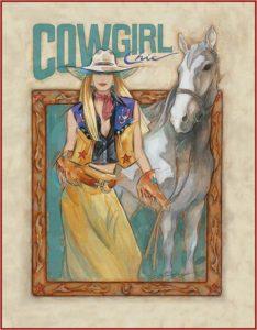Cowgirl Chic Fine Art Print