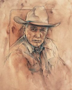 Ray Hunt Fine Art Print